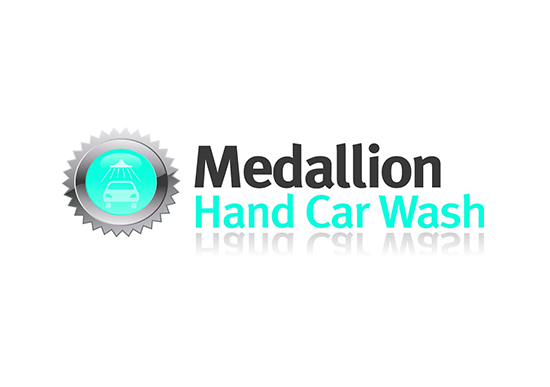 Medallion Hand Car Wash logo