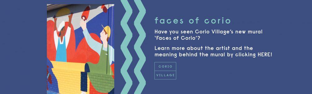 Corio Village's 'Faces of Corio' Mural